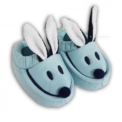 Tavşanlı Patik - Mavi 0-3-6 Ay